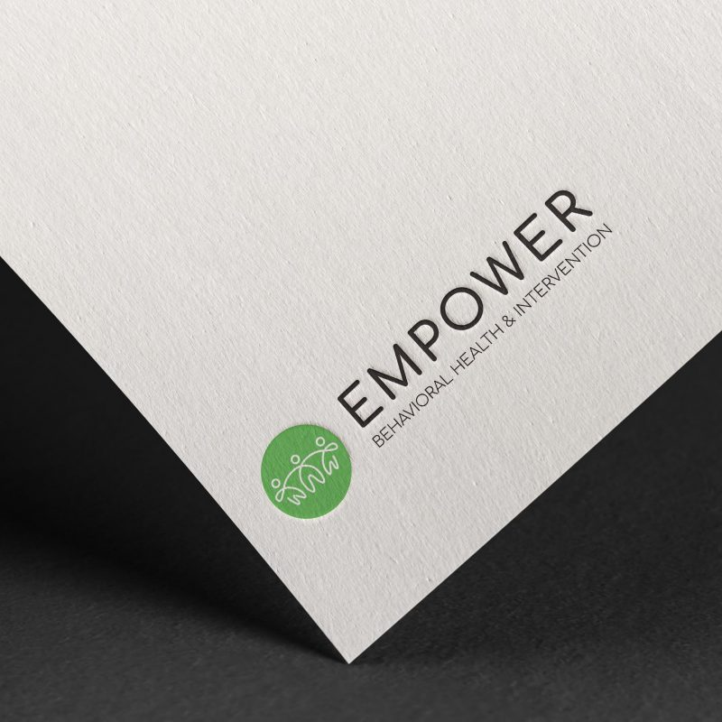 Empower Behavioral Health Embossed Logo